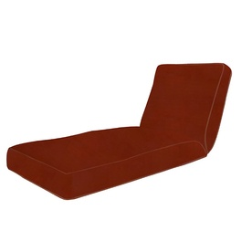 Sunbrella Chili 47.75-in L x 10.25-in W Chaise Cushion $150  sc 1 st  Pinterest : chaise lounge the brick - Sectionals, Sofas & Couches