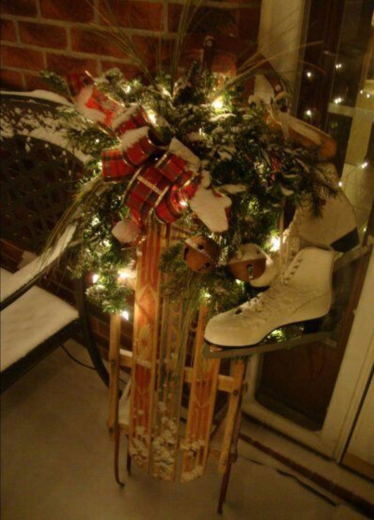 89 best images about decorations exterieur de noel on for Decors de noel exterieur