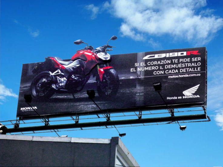 ► Campaña de lanzamiento con Implementación especial e iluminación led http://goo.gl/BBbVbA Nueva motocicleta HONDA CB190R Honda Colombia