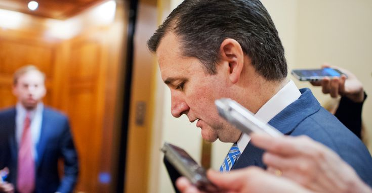 But rather than back down from his critics, Sen. Ted Cruz opted to call out Washington politicians during an appearance on Sean Hannity's radio show.      ( go cruz!!!)