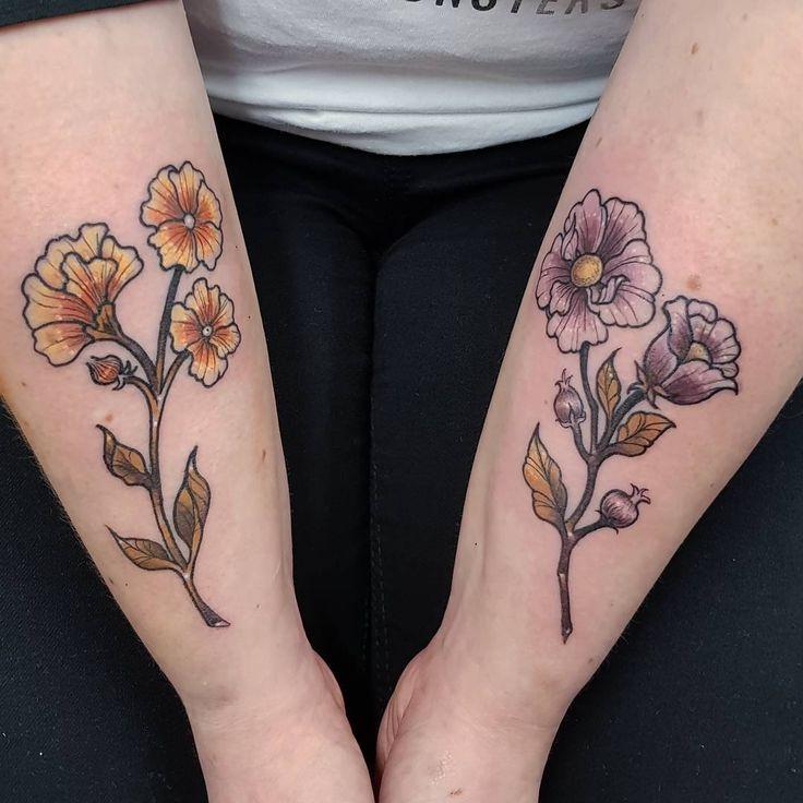 """195 likerklikk, 7 kommentarer – elise (@elisenedal_art) på Instagram: """"A pair of flowers for another tough lady today more like this please!"""""""