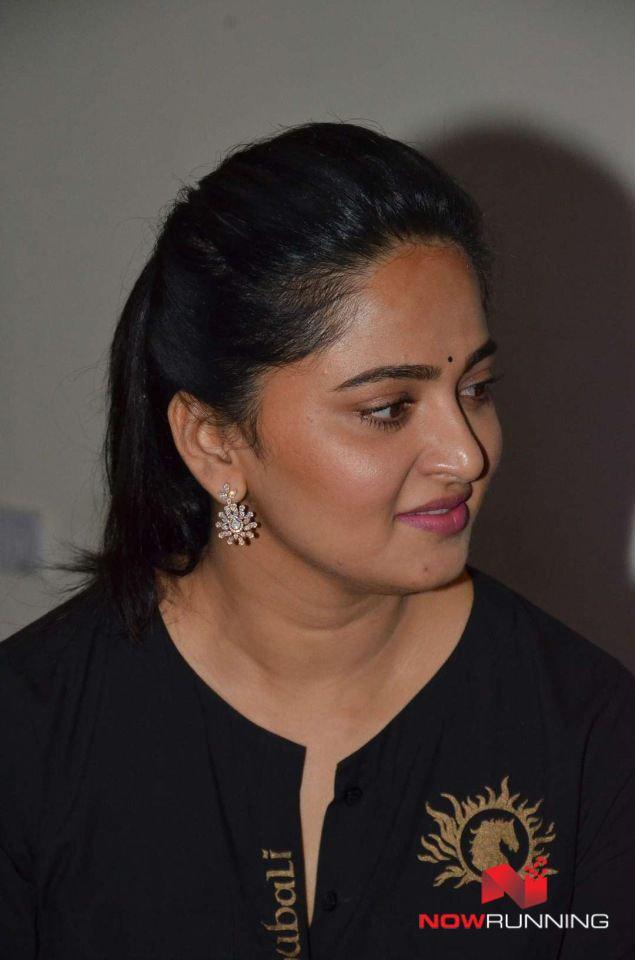 Anushka Shetty at Baahubali Movie Audio Launch and Press Meet