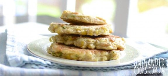 Pick-n-Mix Fritters - One Handed Cooks