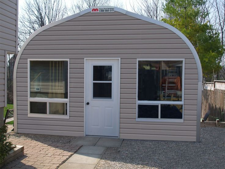 Backyard Man Cave Kits :   Different types of, Leaf stepping stones and Steel garage kits