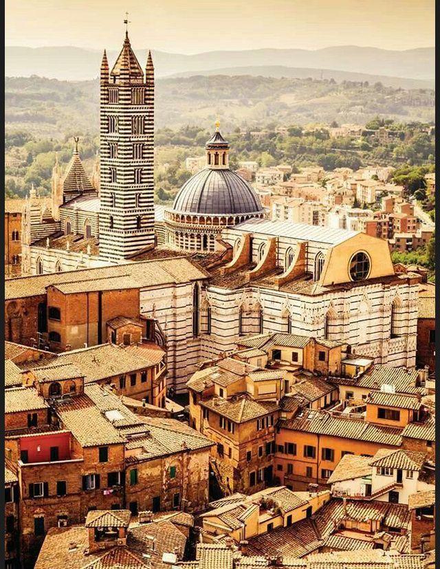 Les plus belles destinations d'Italie - Sienne