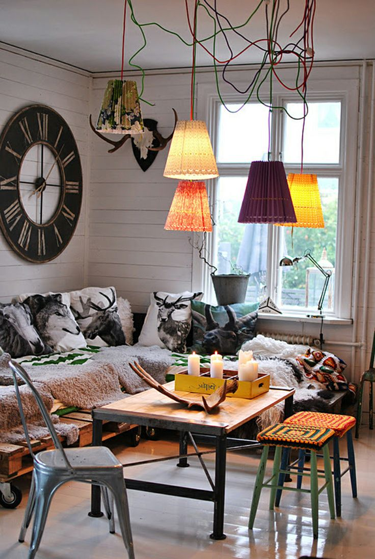56 best bohemian interior decorating ideas images on pinterest home live and spaces - Bohemian interior design ideas ...