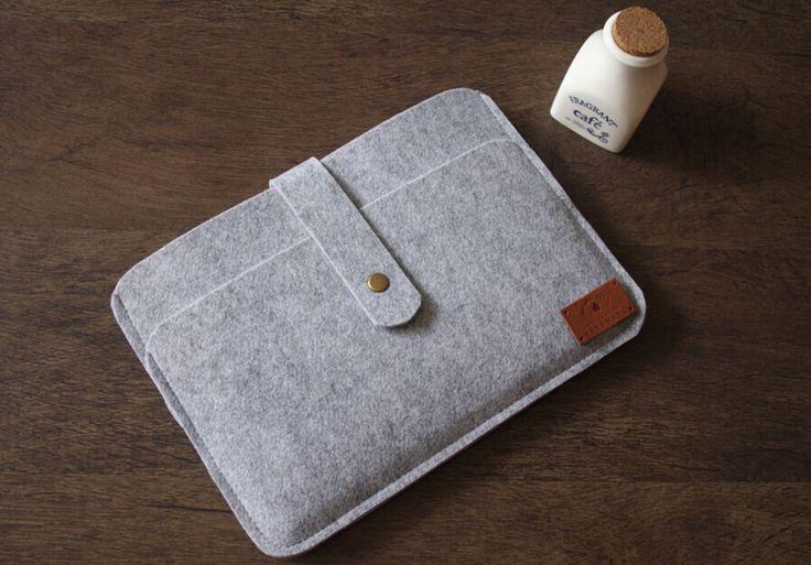 iPad Air Sleeve, Felt iPad 2 Sleeve, 100% Wool Felt Made Double Bag iPad Case Covers Google Nexus Sleeve by CPScraftStudio on Etsy https://www.etsy.com/listing/191070986/ipad-air-sleeve-felt-ipad-2-sleeve-100