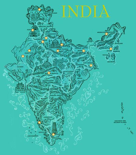 78 best maps of india diffrent from others images on pinterest india people place culture history india peoplemap designinteractive gumiabroncs Images