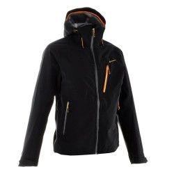 €79,99 - Deportes de Montaña - chaqueta Forclaz 400 impermeable Hombre negro  - QUECHUA