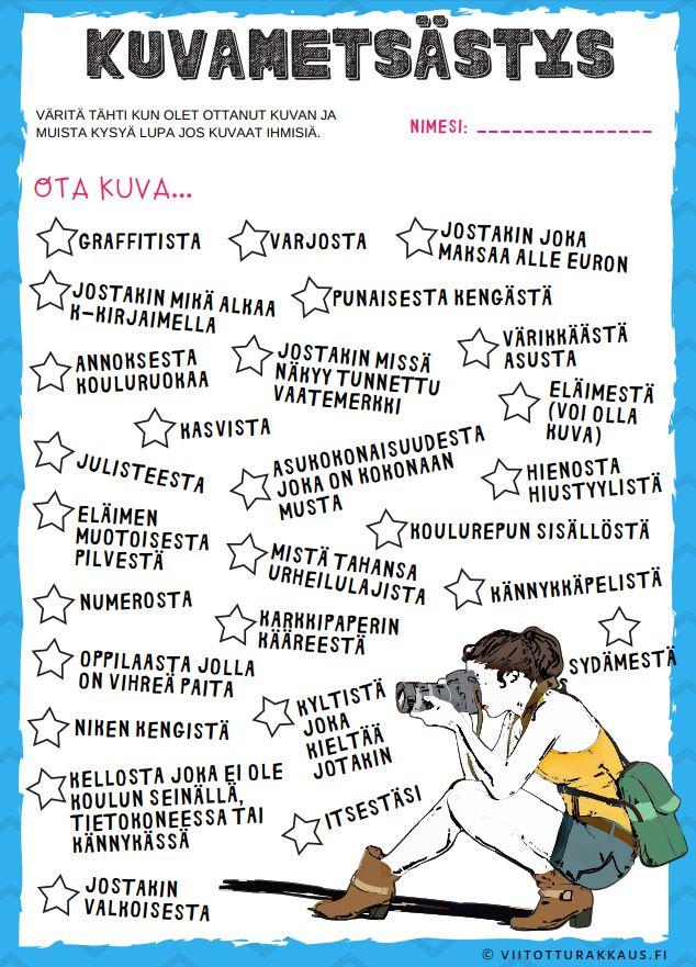 Ruotsin Tehtäviä 6 Luokkalaisille