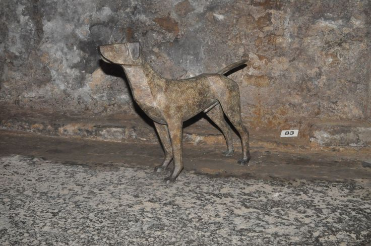 Standing Hound by T Coventry