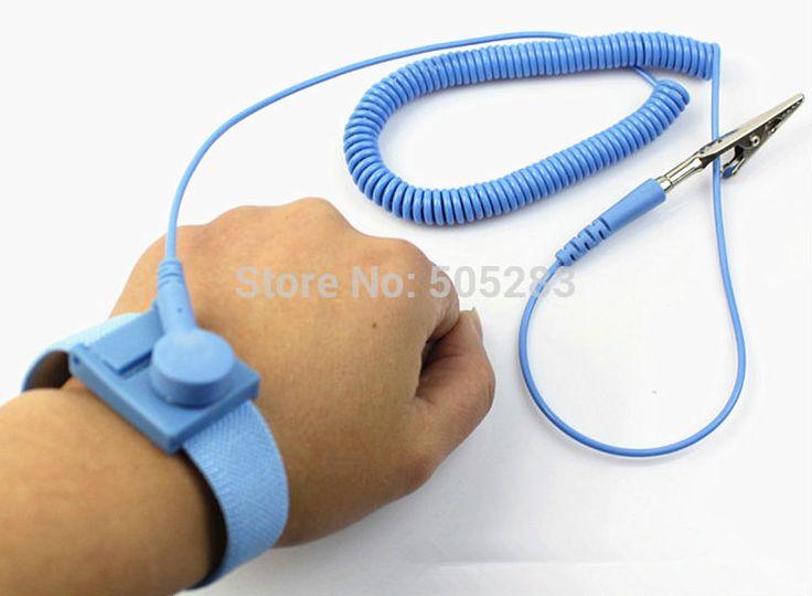 Anti static wire clip antistatic bracelet wristband esd