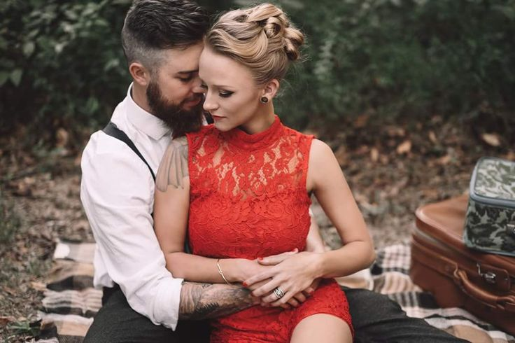 Maci Bookout's engagement photo shoot
