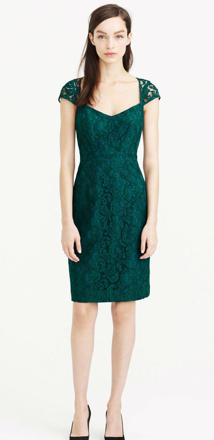 Best 25 j crew bridesmaid dresses ideas on pinterest fuchsia jew tinsley emerald green lace bridesmaid dress ombrellifo Gallery