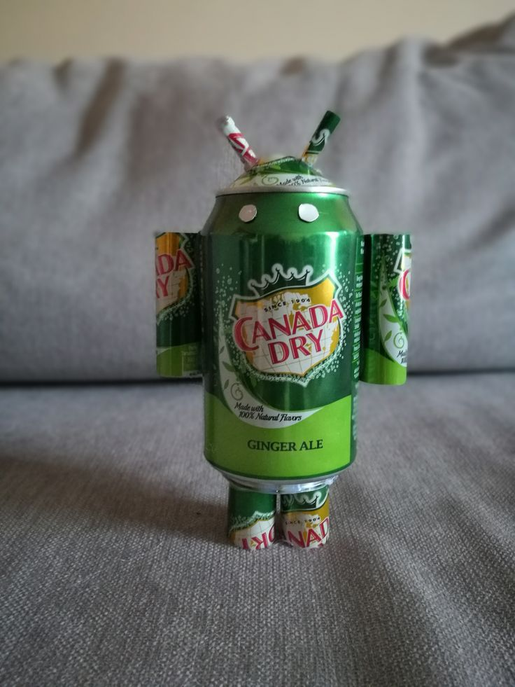 Canada Dry Android (soda can)