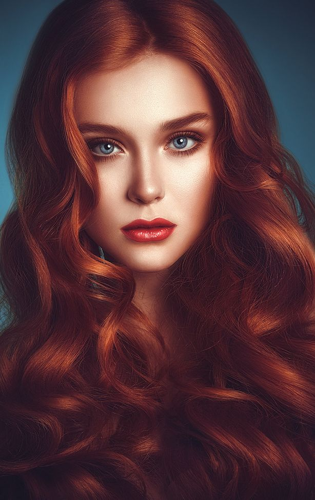 Beauty is divine redhead