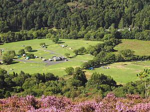 Cae Du campsite, near Beddgelert, Snowdonia.  Great base for walking.  Beautiful!!!