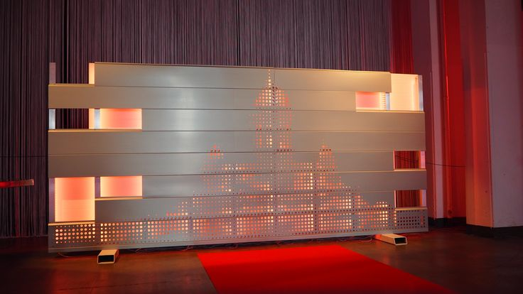 Ruukki® emotion is a complete facade system that consists of perforated cladding products and a support structure with a smartly integrated backlighting system http://www.ruukki.com/ruukki-emotion