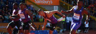 Adam Gemili wins in Birmingham