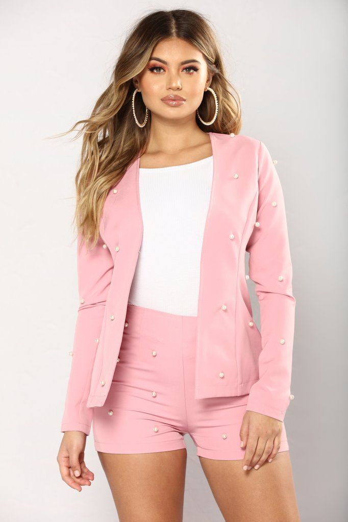c69d2136097 Pearl Them Together Set - Pink | Fashion Nova | Matching Sets ...