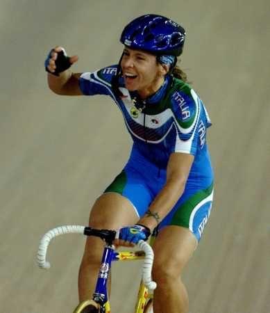 Antonella Bellutti-Sydney 2000 - ORO:Ciclismo-Corsa a punti femminile