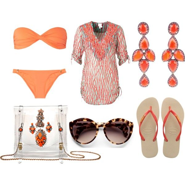 """Time for vacation?"" by stockholmmarket on Polyvore"