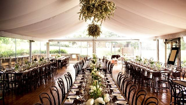 Garden Wedding in The Oaks.  Image courtesy of GM Photographics.