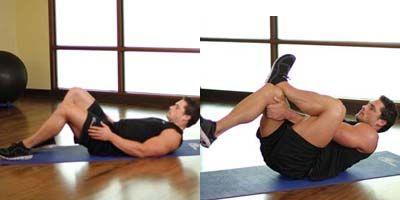 Súlyzós edzés, diéta és aerob edzés a tökéletes farizom titka.