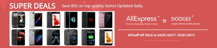 Súper ofertas en smartphones de Doogee; muchos por menos de 100