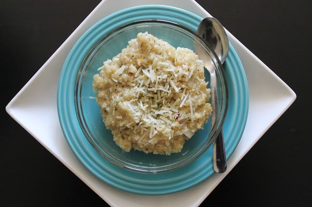 BEAUTY & THE BEARD: PARMESAN GARLIC QUINOA (you'll never eat mac & cheese again!)