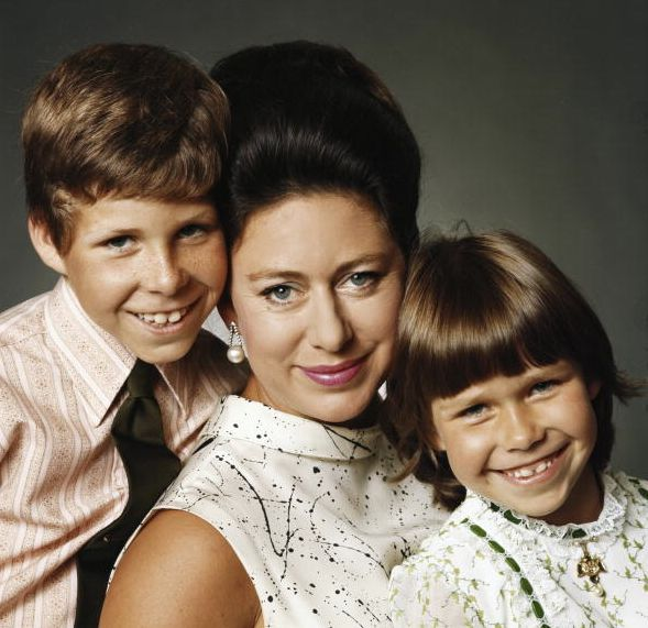 The Royal Watcher:  Princess Margaret with her children David and Sarah