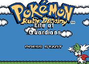 Pokemon Ruby Destiny - Life of Guardians