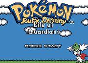 Pokemon Ruby Destiny - Life of Guardians