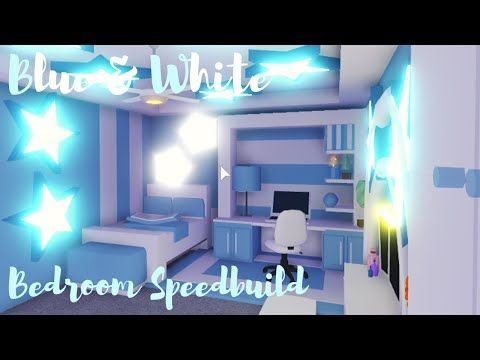 Adopt Me Boho S Bedroom Speed Build Youtube In 2020 Simple Bedroom Design Blue White Bedroom Cute Room Ideas