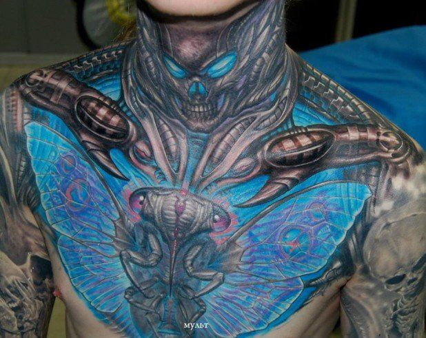 16 Badass Bio Organic Tattoos