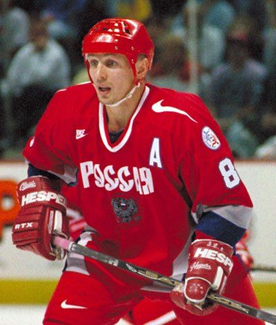 Igor Larionov, Detroit Red Wings, Stanley Cup, Hockey Hall of Fame