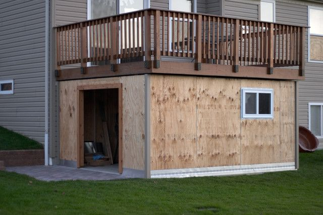 Best 25 building a shed ideas on pinterest diy shed for 14x14 deck plans