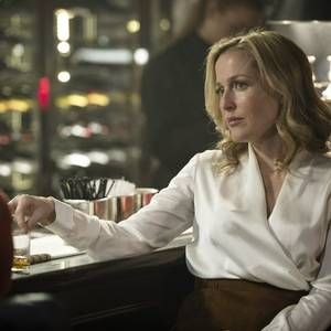 Obsessed with Gillian Anderson's wardrobe in The Fall. She's bringing the blouse back!