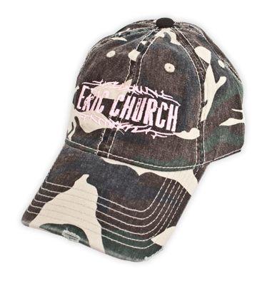 Pink Camo Hat - Eric Church