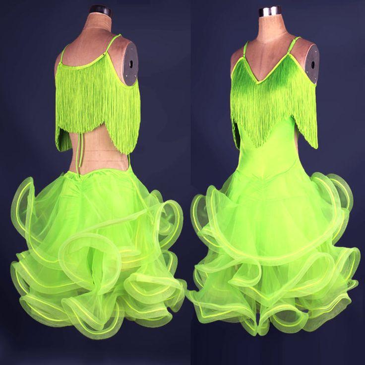 Cheap cha cha, Buy Quality dress cha cha directly from China latin salsa dresses Suppliers: 2017 Adult/Child Latin Salsa Dresses Cha Cha/Rumba/Samba/Latin/Ballroom Dance Skirts Women/Girls Roupa De Ginastica Saia Social