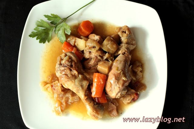 Lazy Blog: Pollo cocinado sin prisas en cocotte