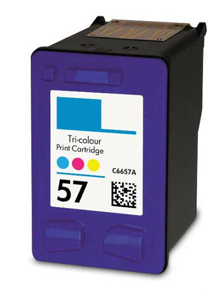 Remanufactured Replacement For HP 57 C6657AN Tri Color Ink Cartridge