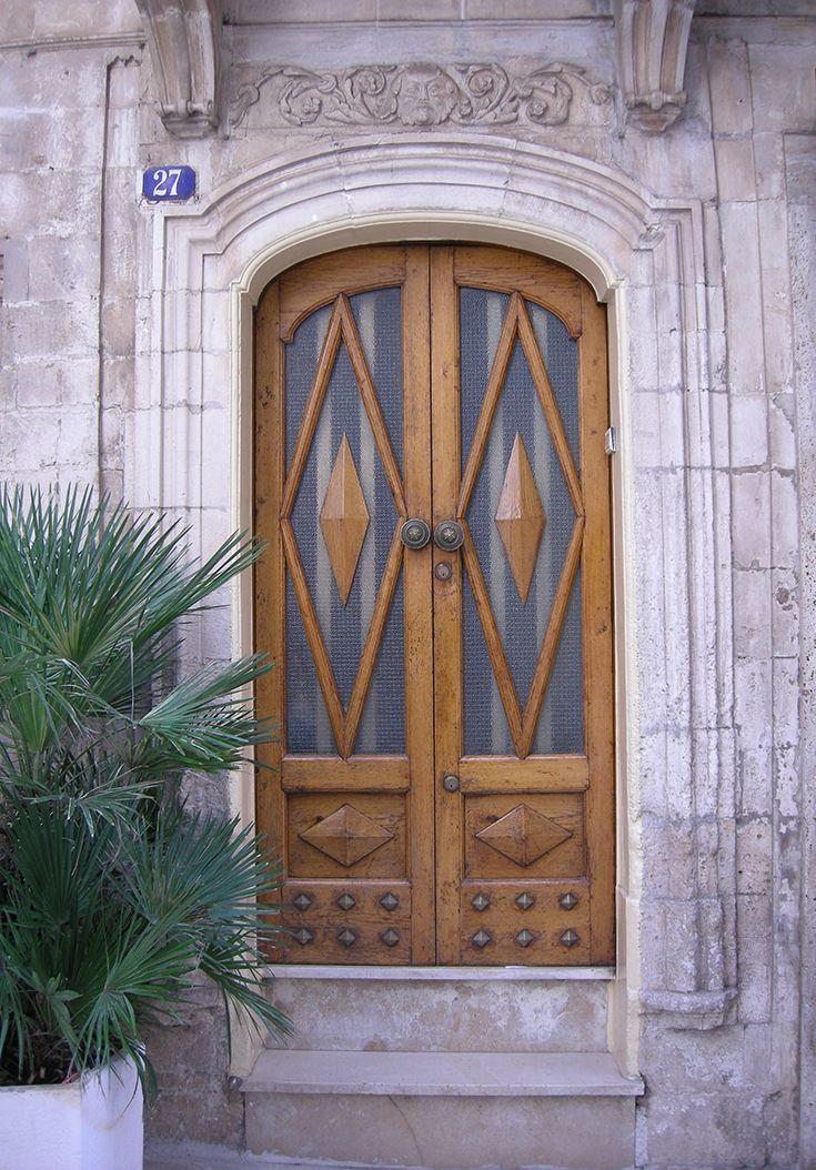 doorway in the old town of Martina Franca