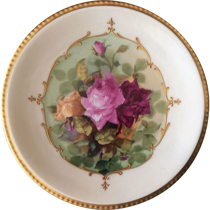 Hand Painted Plate D