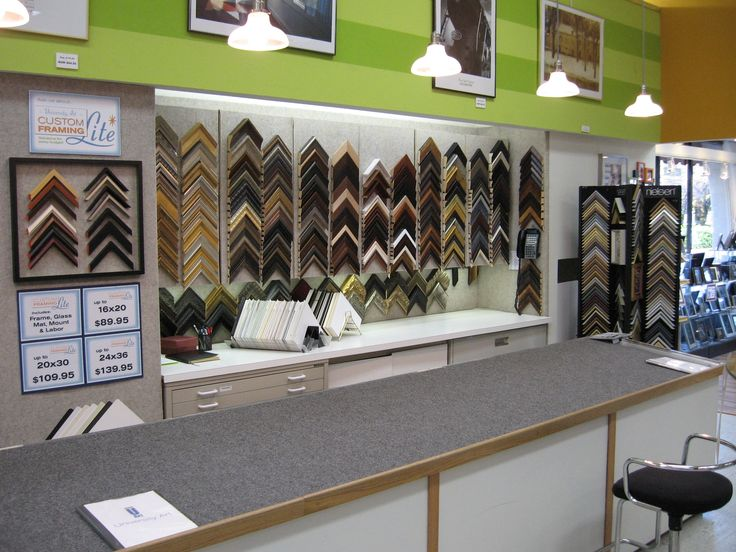 Hermosa Picture And Frame Store Molde - Ideas de Arte Enmarcado ...