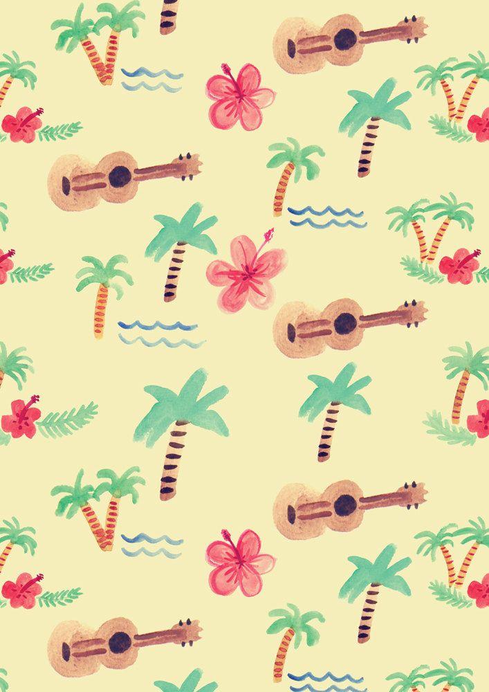 Ukulele ★ iPhone wallpaper