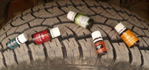 Essential Oils and Tires