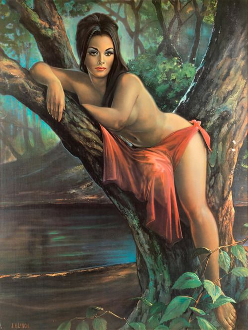 J.H. Lynch - Woodland Goddess, just bought this pretty lady for my house.