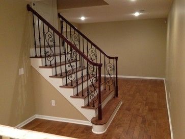 245 best images about basement on pinterest basement for Basement floor plans with stairs in middle