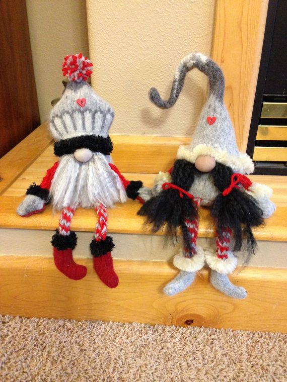 Handmade felted Gnomes by HeidisGnomes on Etsy